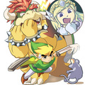 Bowser in LoZ: ST  LOL!!! - nintendo photo