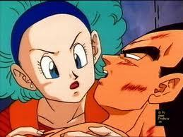 Bulma Briefs and Vegeta
