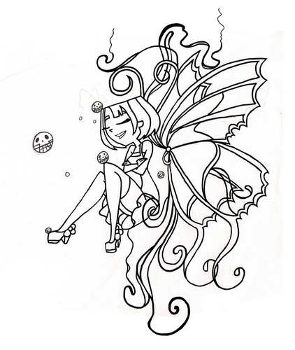 farfalla Tatto (Outline)