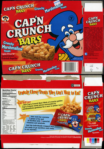 Cap'n Crunch Bars