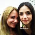 Caroline e Fernanda Santos