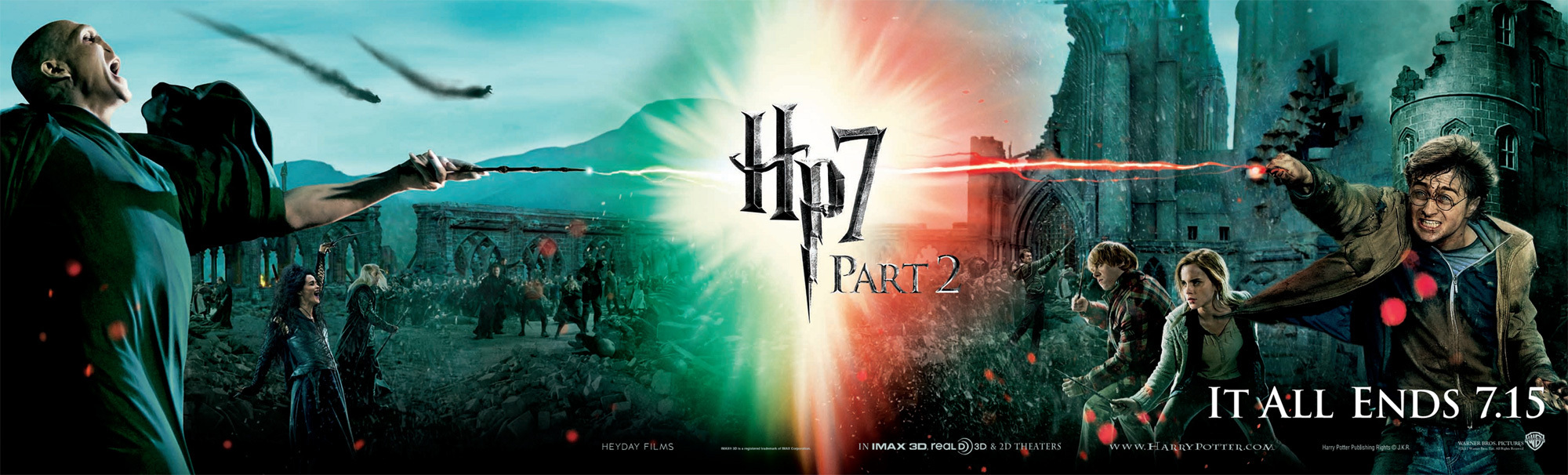 Harry Potter and the Deathly Hallows Part 2 - Battle Poster