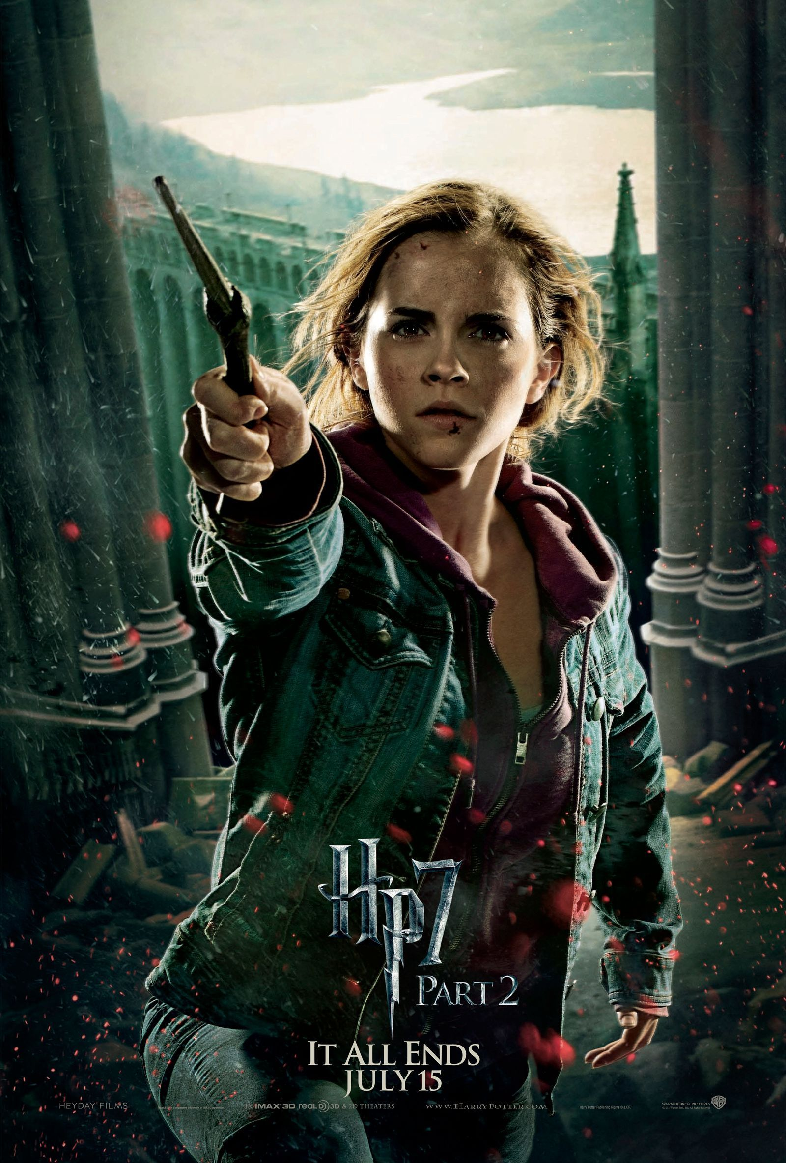 Harry Potter images Deathly Hallows Part 2 Action Poster ...
