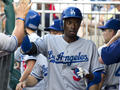 Dee Gordon's ML Debut - los-angeles-dodgers photo