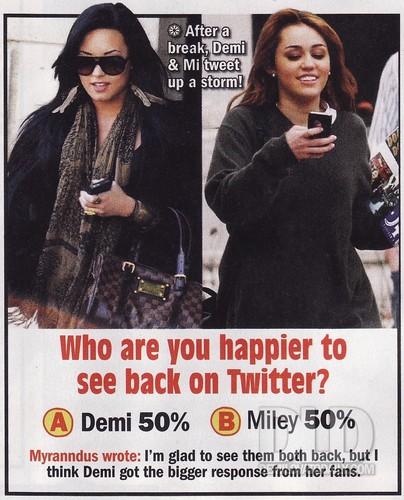 Demi - Twist Magazine, July 2011