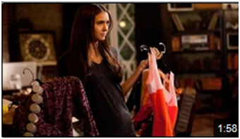 Stefan & Elena wallpaper entitled Doesn't She Look Pregnant
