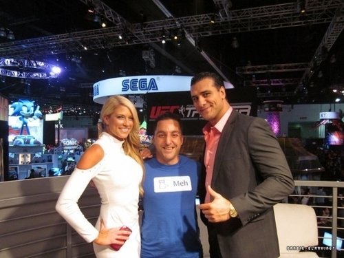E3 Convention with Alberto del Rio | June 7, 2011.