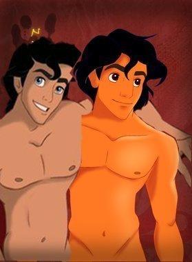 Eric and Aladdin
