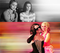 Faberry.  - quinn-and-rachel fan art