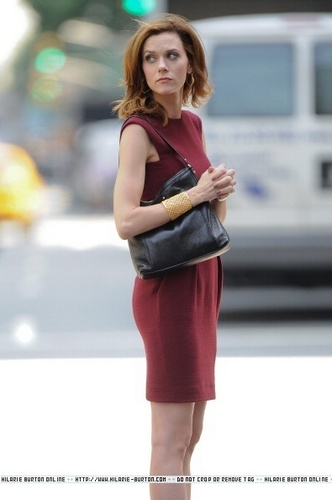 Filming on Location in Midtown Manhattan - June 8, 2011