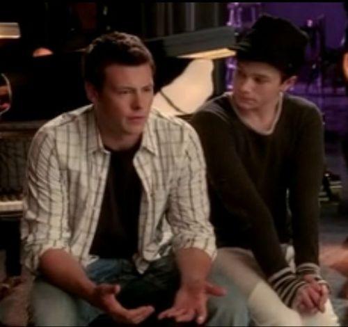 Finn and Kurt