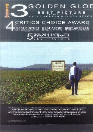 For Your Consideration- Walk the Line