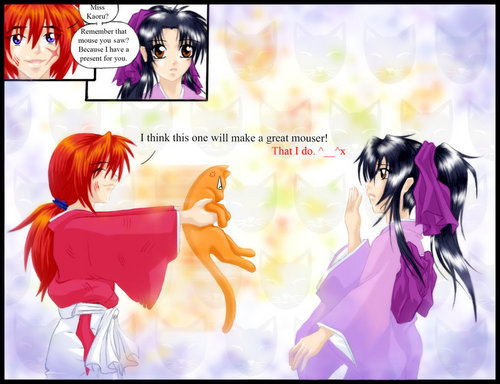 Fruits Basket x Rurouni Kenshin