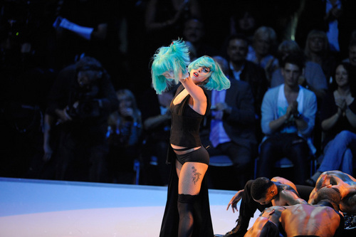 Gaga Germany's siguiente parte superior, arriba model 3