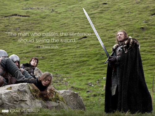 "Eddard ""Ned"" Stark - game-of-thrones Wallpaper"