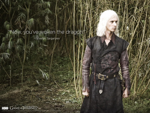Game of Thrones wallpaper possibly containing a well dressed person entitled Viserys Targaryen