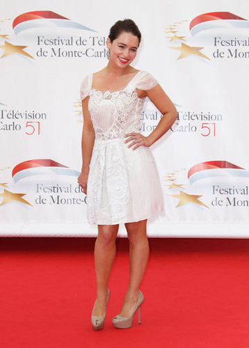 Game of Thrones stars at Monaco TV Festival
