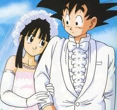 悟空 and Chichi get married