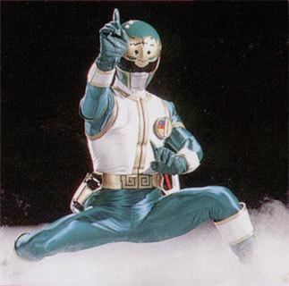 Mighty Morphin Power Rangers wallpaper called Green Lion Thunder Ranger