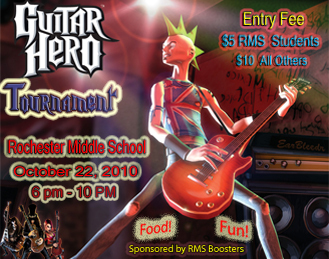Guitar Hero wallpaper entitled Guitar Hero Poster