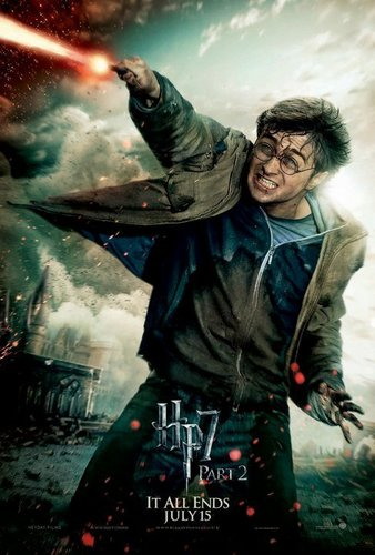 HP7.2 Poster Harry Potter