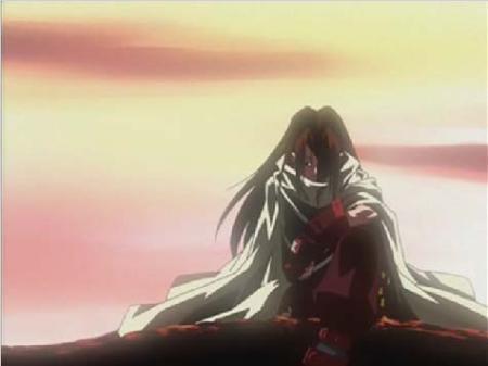 Shaman King karatasi la kupamba ukuta titled Hao Asakura