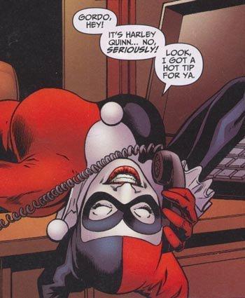 Harley got her phone call...