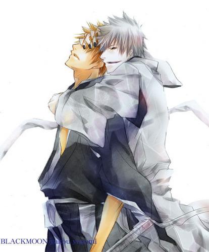 Hichigo and Ichigo