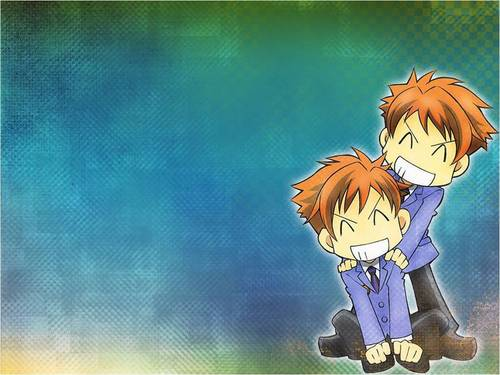 Hikaru and Kaoru দেওয়ালপত্র
