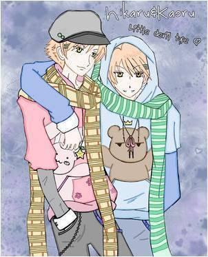 Hikaru and Kaoru!