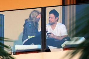 Hilary Duff & Mike Comrie  Engagement