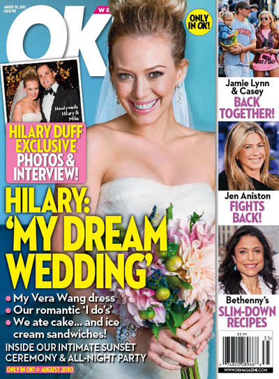 Hilary Duff & Mike Comrie Wedding