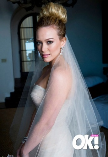Hilary Duff & Mike Comrie fondo de pantalla called Hilary Duff & Mike Comrie Wedding
