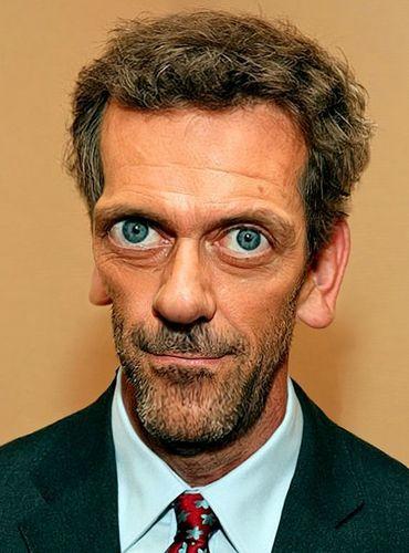 Hugh Laurie-caricature