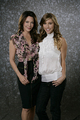 Hunter Tylo and Jacqueline MacInnes Wood