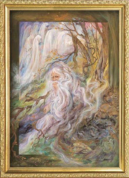 Indian painter M. F. Hussain
