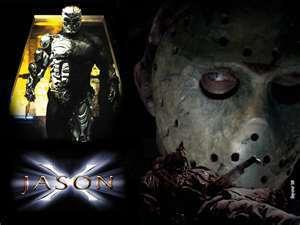 Jason X kertas dinding