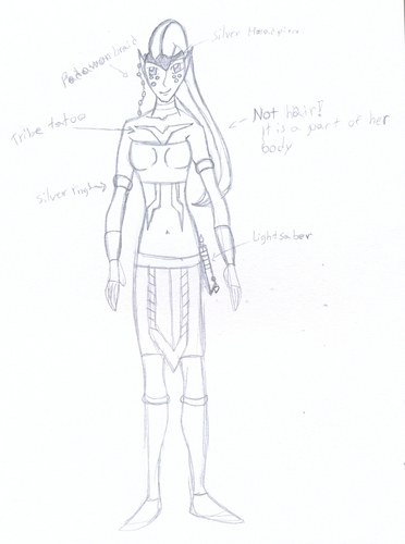 Jedi Padawan Female (Concept Art)