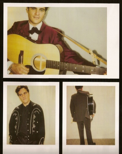 Joaquin Phoenix Costume Tests