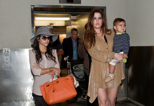 Kardashians and Family at LAX