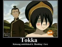 Kataang established it blushing=love