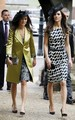 Kate and Pippa Middleton at a wedding in Berkshire. - prince-william-and-kate-middleton photo