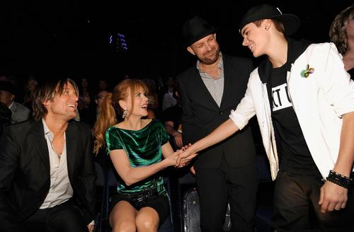 Keith and Nicole meet Justin Beiber!