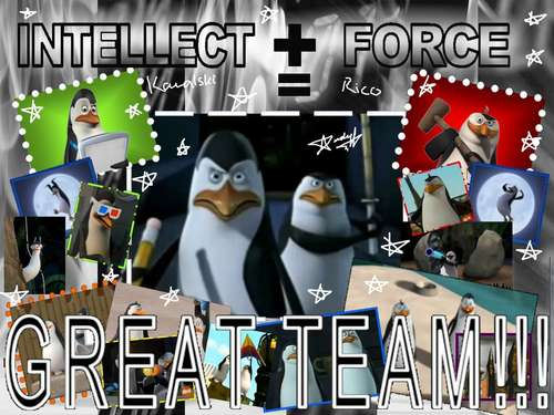 Kowalski and Rico THE BEST!!!