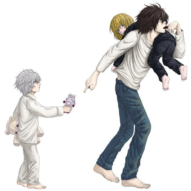 Death note~Near, Mello, Matt or L? | Yahoo Answers