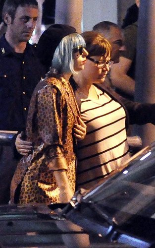 Lady Gaga - Arriving in Rome, Italy 6/11