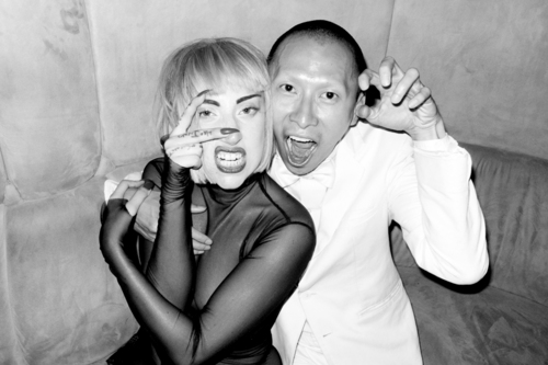 Lady Gaga and Terence Koh