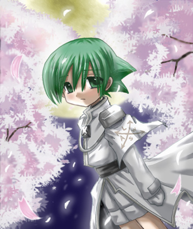 Shaman King wallpaper with a bouquet entitled Lyserg Diethel