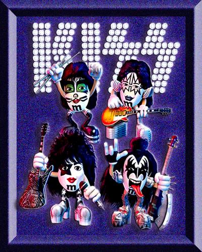 M & M Kiss