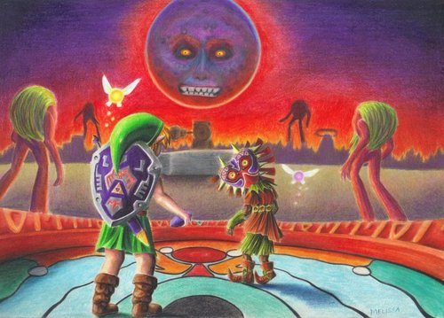 Majora's Mask - Fan Art - the-legend-of-zelda Fan Art